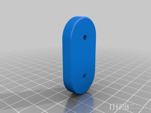 皮带夹  皮带固定器 3D模型  图2