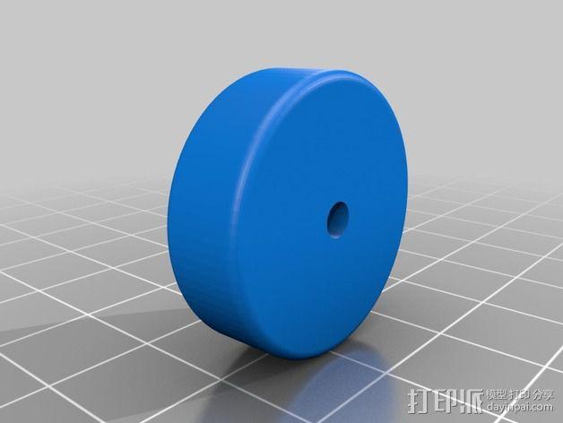 皮带夹  皮带固定器 3D模型  图4