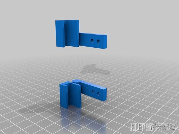 铰链 3D模型  图2