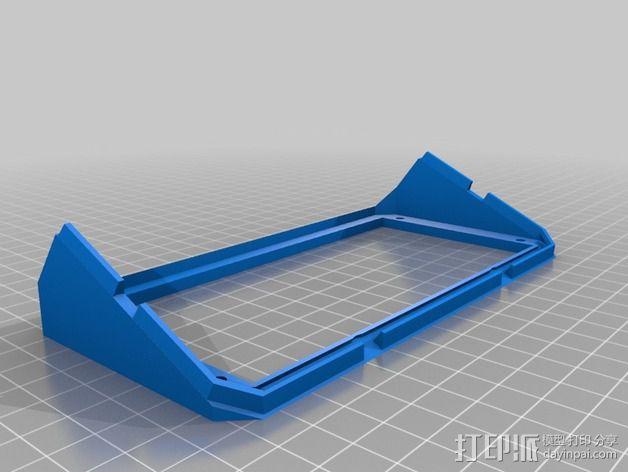 控制器支架 3D模型  图3