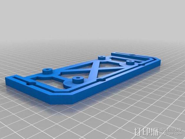 控制器支架 3D模型  图2