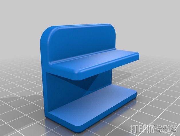 扳手架 工具架 3D模型  图2