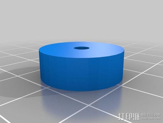 电源保护壳 3D模型  图2