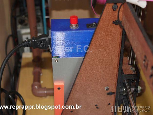 电源保护壳 3D模型  图7