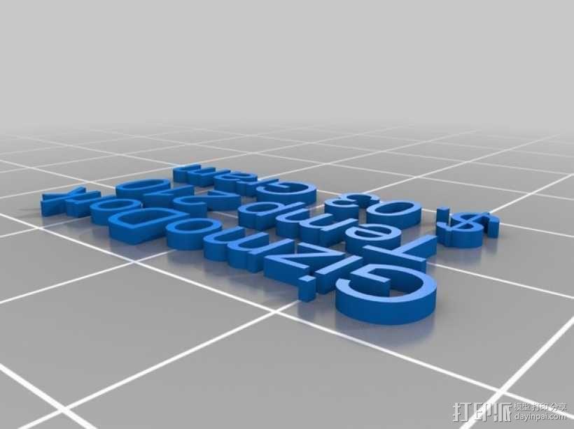 线材样品 3D模型  图2