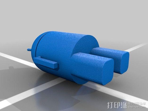 安仔 安卓机器人 3D模型  图2