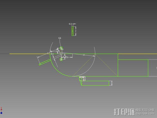 安仔 安卓机器人 3D模型  图3