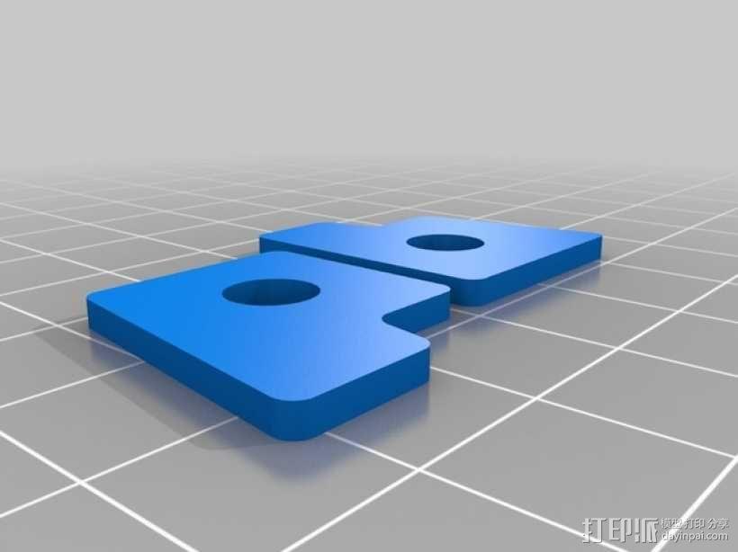 Printrbot标签 3D模型  图1
