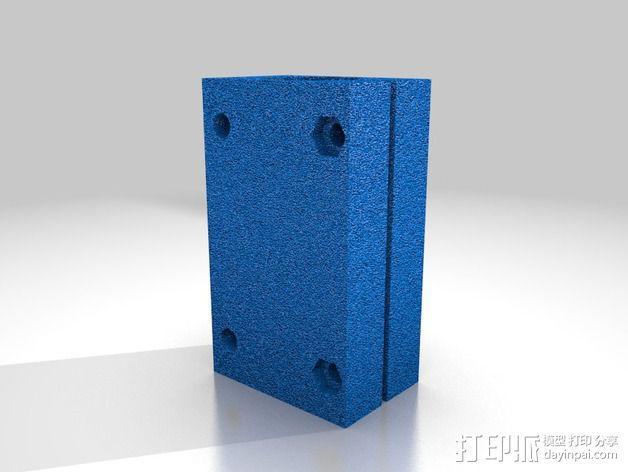 滚动轴承 线性轴承 3D模型  图4