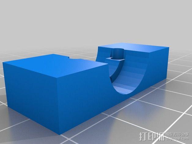 J-head喷嘴支架 3D模型  图3