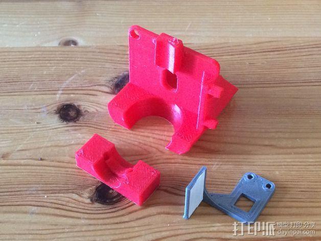 J-head喷嘴支架 3D模型  图6