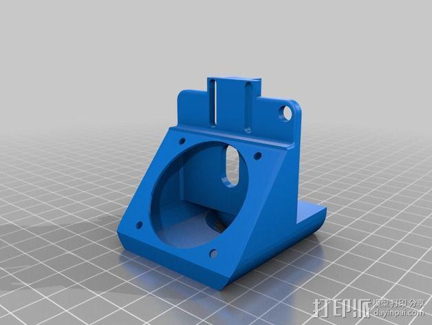 J-head喷嘴支架 3D模型  图5