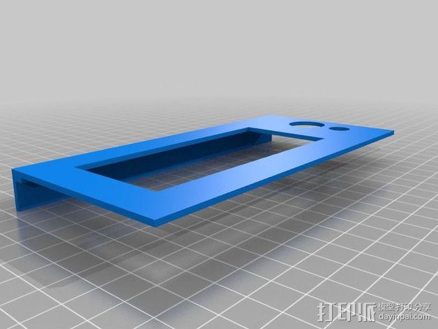 控制器前面板 3D模型  图2