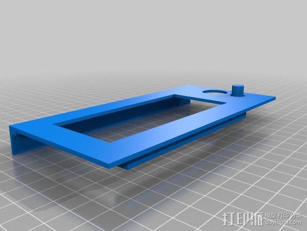 控制器前面板 3D模型  图1