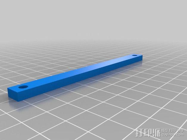 控制器前面板 3D模型  图4