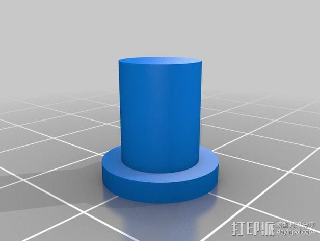 控制器前面板 3D模型  图3
