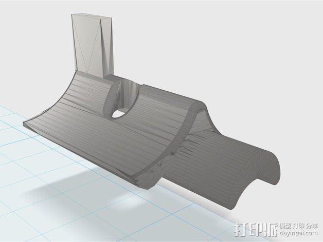 挤出机部件 3D模型  图1