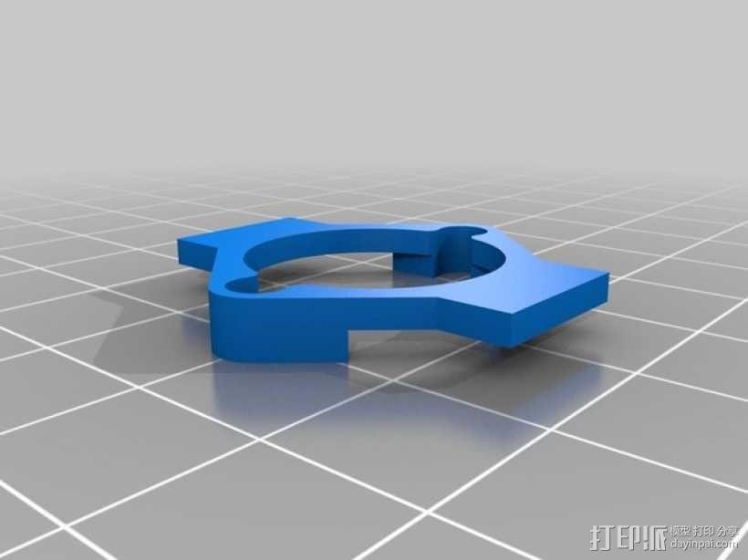 有着蓝色背景灯按钮的独立K8200 3D模型  图9