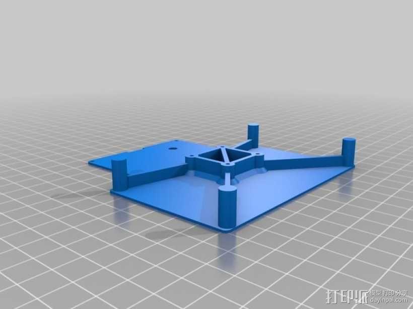 有着蓝色背景灯按钮的独立K8200 3D模型  图10