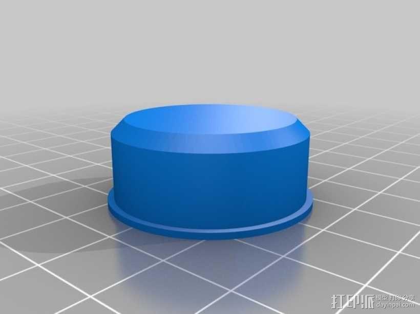 有着蓝色背景灯按钮的独立K8200 3D模型  图11