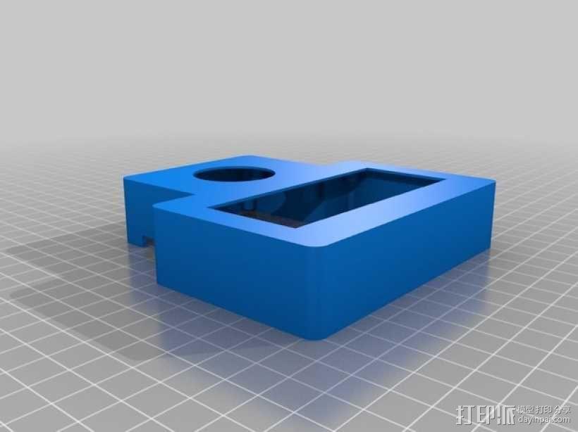 有着蓝色背景灯按钮的独立K8200 3D模型  图13