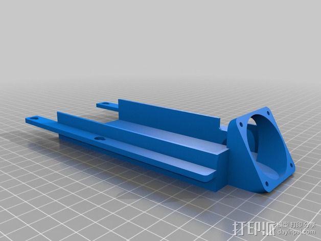 电路板保护罩 3D模型  图3