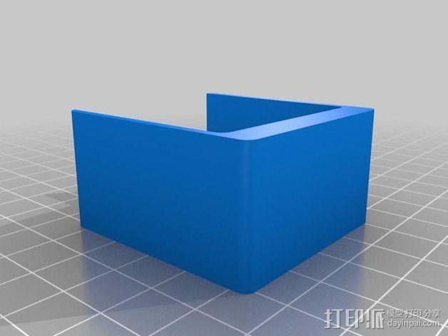 电路板保护罩 3D模型  图2