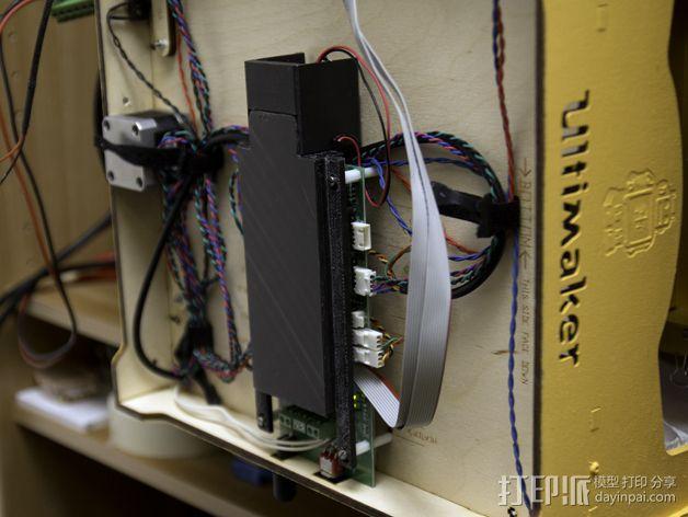 电路板保护罩 3D模型  图8
