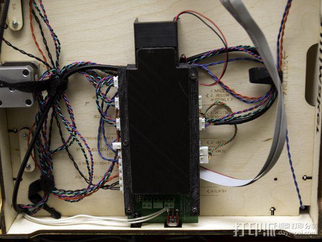 电路板保护罩 3D模型  图7