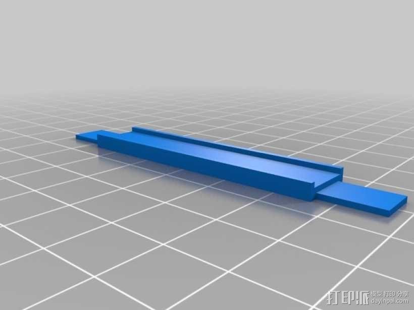 控制器支架 3D模型  图6