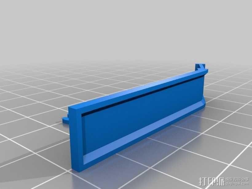 控制器支架 3D模型  图5