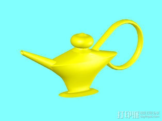 阿拉丁神灯 3D模型  图3