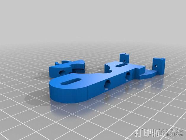 自动调平器 3D模型  图1