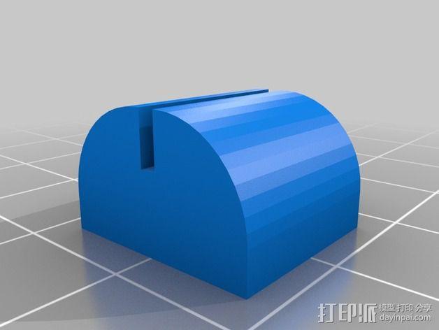 阻尼器 3D模型  图2