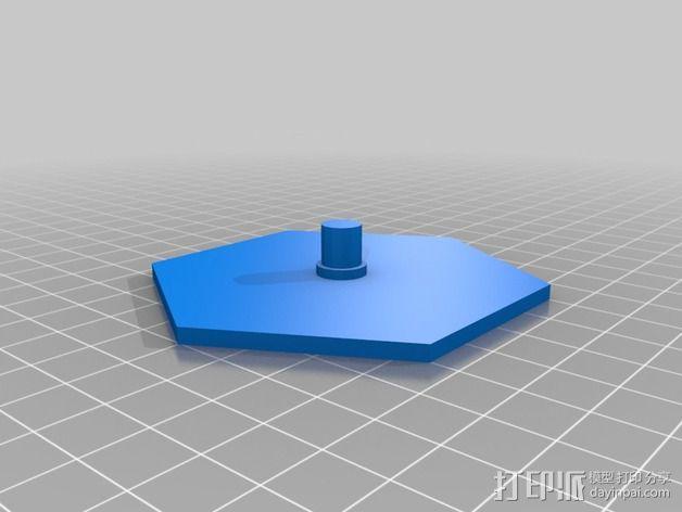可配置的线轴架 3D模型  图2