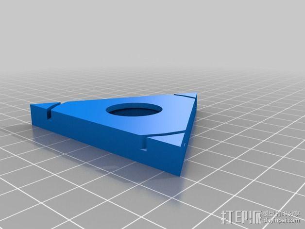 可配置的线轴架 3D模型  图3