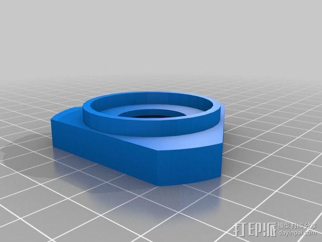 可配置的线轴架 3D模型  图4