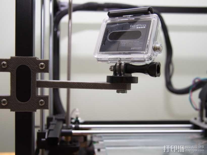 相机脚架 3D模型  图1