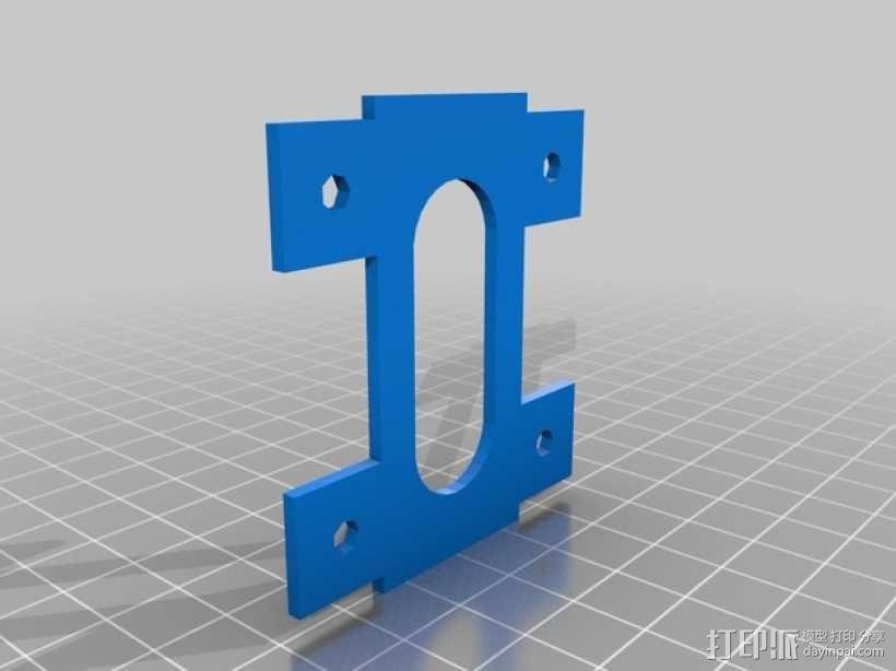 相机脚架 3D模型  图3