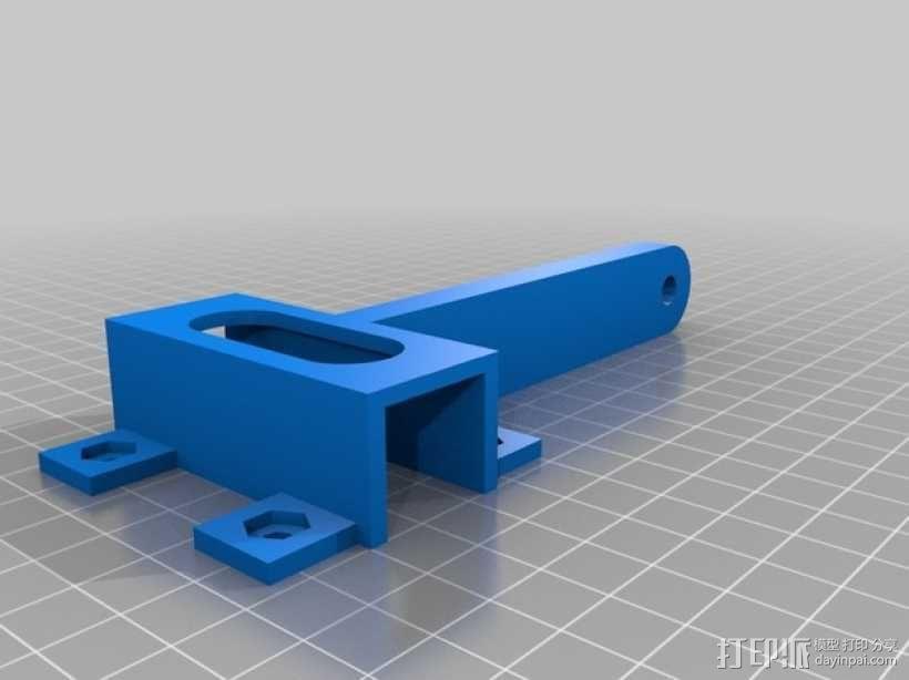 相机脚架 3D模型  图4