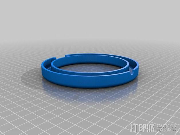 钻石戒指 3D模型  图13