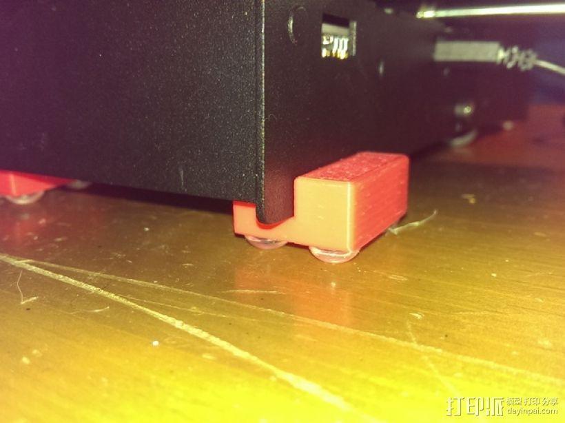 打印机角托 支撑脚 3D模型  图1