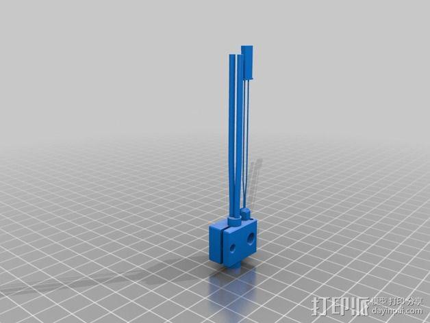 改进版喷头 3D模型  图3