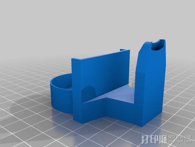 风扇导管夹 3D模型  图4