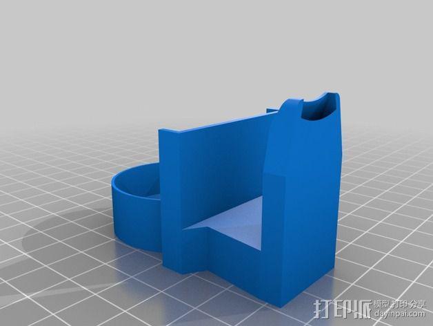 风扇导管夹 3D模型  图5