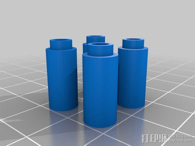风扇导管夹 3D模型  图6