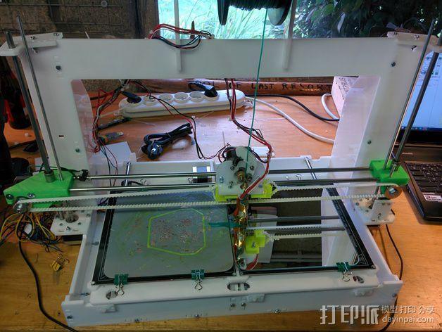 Graber 打印机 3D模型  图1