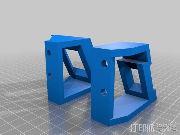 Delta式打印机 3D模型  图2