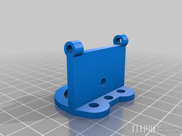 Delta式打印机 3D模型  图3