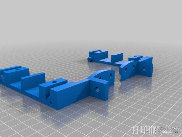 Delta式打印机 3D模型  图4